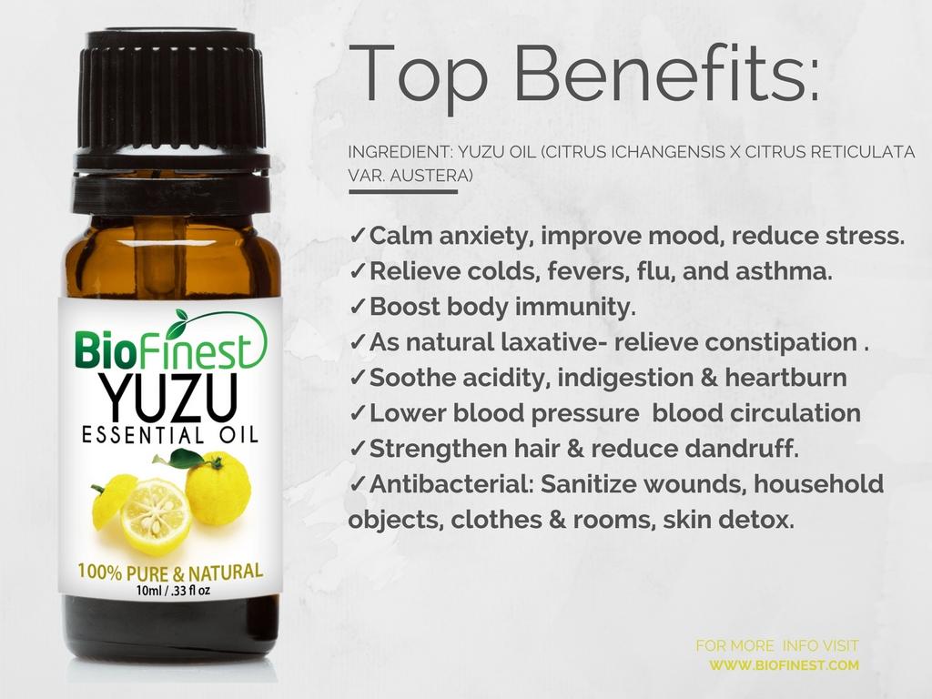 biofinest 100% pure yuzu essential oil best for aromatherapyyuzu 1 yuzu 2 yuzu 3
