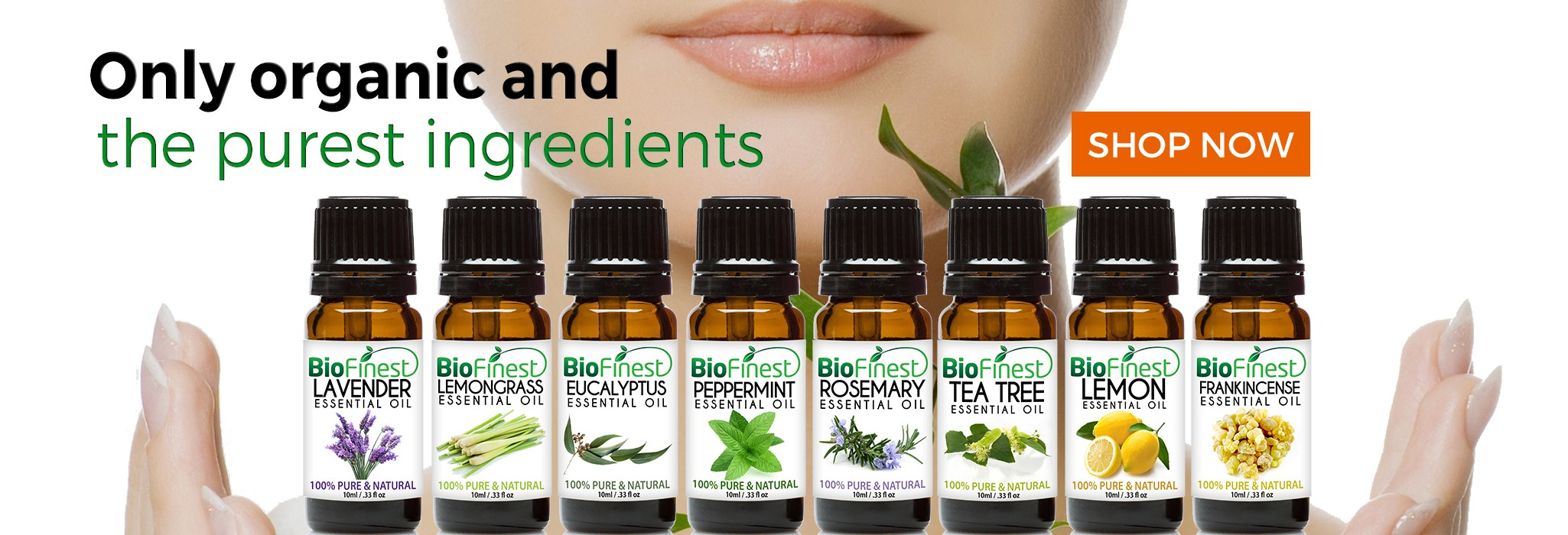 Biofinest 100% Pure Essential Oil, Organic Carrier Oil and Base Oil